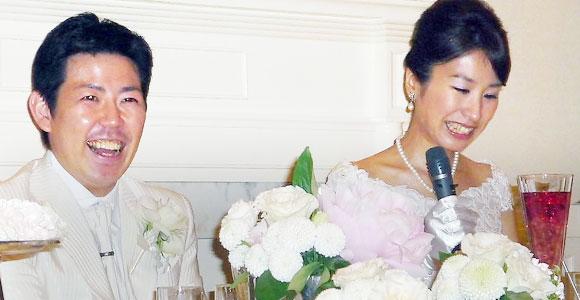 結婚式プロフィールビデオ高沖夫妻