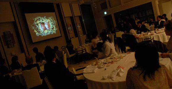 結婚式プロフィールビデオの安藤夫妻