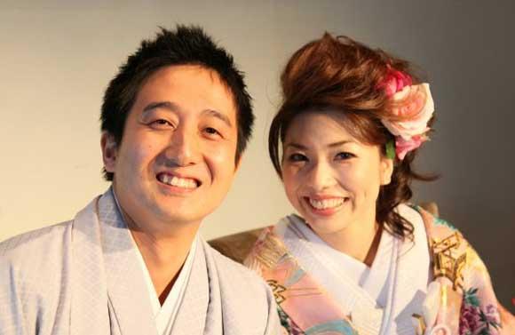 結婚式プロフィールビデオの野川夫妻2