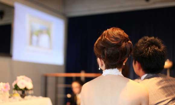 結婚式プロフィールビデオの野川夫妻
