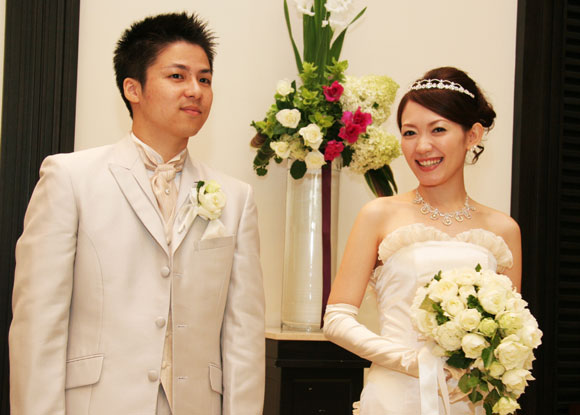 結婚式プロフィールビデオ関城夫妻